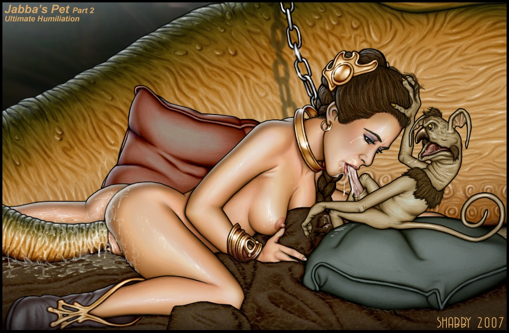 forced humiliation interspecies jabba_the_hutt oral princess_leia_organa rape return_of_the_jedi salacious_crumb shabby_blue slave_leia star_wars