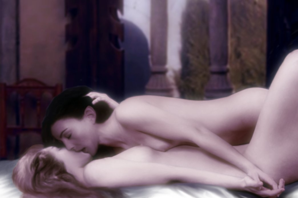 arwen_undomiel breasts color elf eowyn female female_only lord_of_the_rings multiple_females tagme yuri