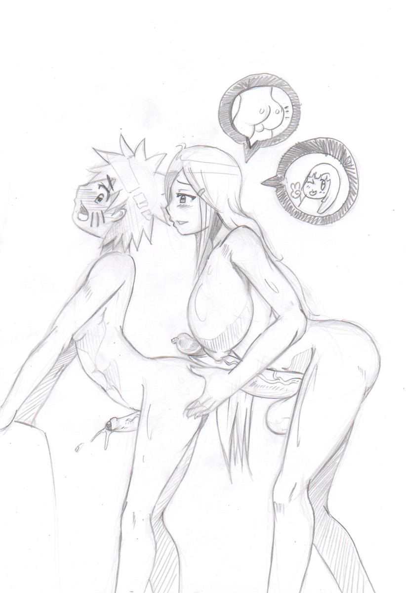 breasts ejaculation futa_on_male futanari kushina_uzumaki mother_and_son naruto uzumaki_naruto nikoh uzumaki_kushina uzumaki_naruto