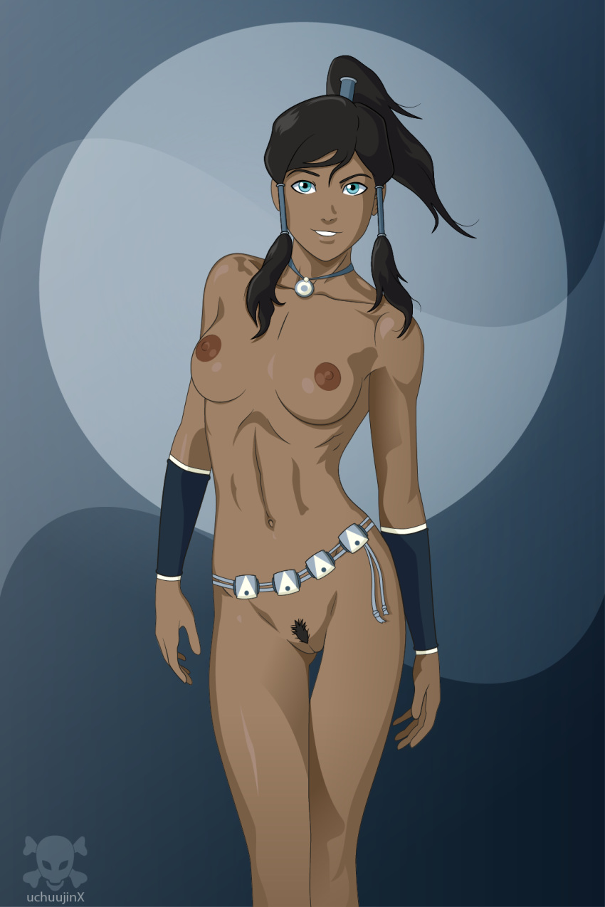 avatar_the_last_airbender breasts korra nude pussy the_legend_of_korra uchuujinx