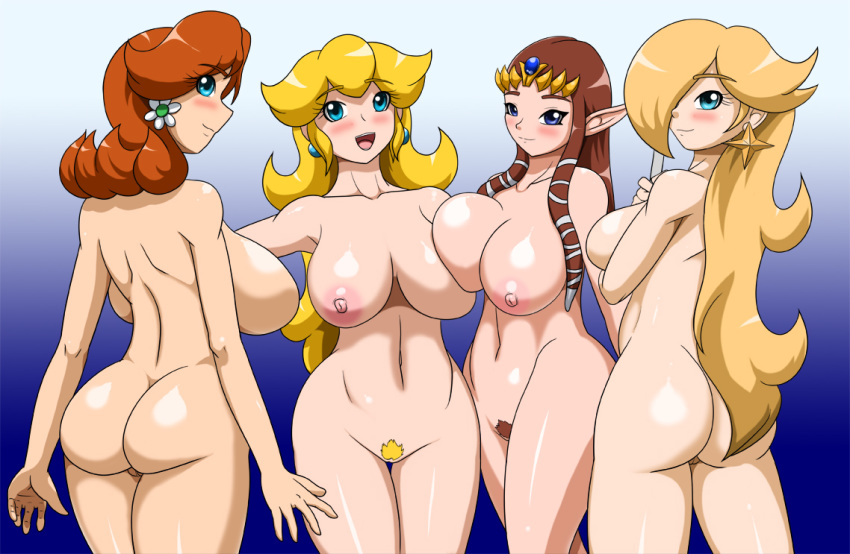 the_legend_of_zelda nintendo princess_daisy princess_peach princess_rosalina princess_zelda speeds super_mario_bros. super_mario_galaxy the_legend_of_zelda