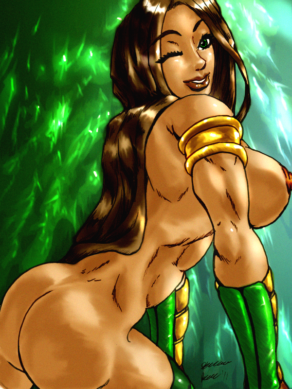 Removed mortal kombat nude tits final