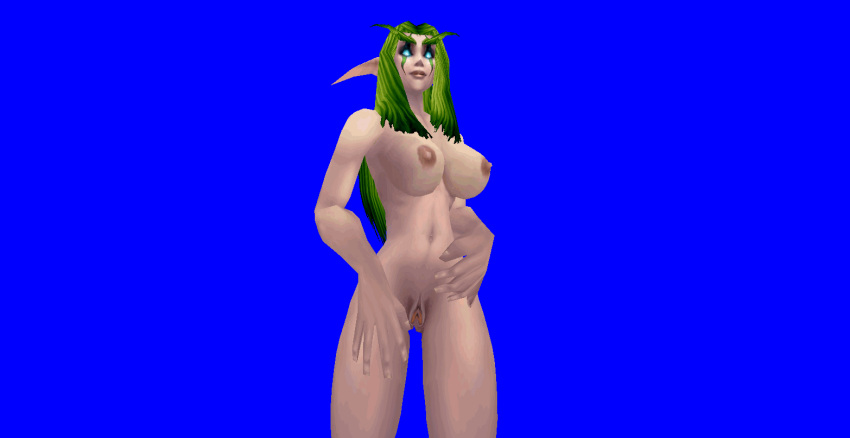 You world of warcraft night elf female nude understood not