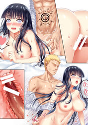 1boy abs anus artist_request ass bandaged_arm bar_censor black_hair blonde_hair blush breasts canon_couple censored comic cross_section doggy_style faceless faceless_male female haneru heart hime_cut hyuuga_hinata japanese large_breasts lavender_eyes long_hair naruto naruto:_the_last navel nipples nude open_mouth penis sequential sex spiked_hair straight sweat tattoo text translation_request uzumaki_naruto rating:Explicit score:-7 user:bot