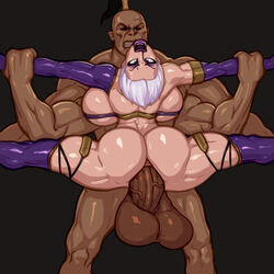anal goro huge_ass huge_balls huge_breasts huge_cock isabella_valentine mortal_kombat rampage0118 rape soul_calibur rating:Explicit score:138 user:Nihaz