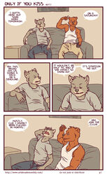 anthro artdecade bear canine comic english_text fur grizzly_bear male mammal text wolf rating:Safe score:2 user:Davyyyyy_Jones