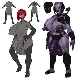 alien areola balls big_breasts breasts carmen_hardon_(rampage0118) dickgirl erect_nipples flaccid huge_breasts human intersex mammal model_sheet muscular_thighs nipples penis predator_(franchise) rampage0118 saggy_balls stimia_(rampage0118) yautja rating:Explicit score:32 user:bot