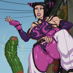 big_breasts big_lips blanka feet huge_ass insult juri_han nervous penis rampage0118 smegma street_fighter rating:Explicit score:19 user:pocodoco