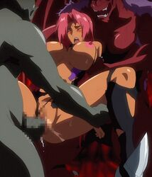 animated blush bouncing_breasts censored closed_eyes clothes dark_skin kagami_(artist) lilith long_hair makai_kishi_ingrid monster nipples open_mouth oppai orc pussy_juice rape red_hair screen_capture sex spread_legs sweat torn_clothes vagina rating:Explicit score:24 user:bot