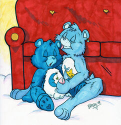 bedtime_bear care_bears lilifox tagme tugs