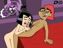 danny_fenton danny_phantom dark-skinned_male dark_skin darkdp interracial sam_manson tucker_foley