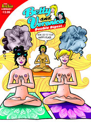 3girls archie_comics betty_and_veronica betty_cooper black_girl black_hair blonde_hair breasts cactus34 female multiple_girls nancy_woods orgy pussy veronica_lodge