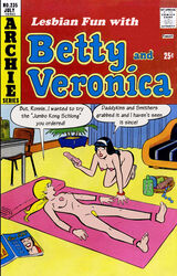 archie_comics ass betty_and_veronica betty_cooper breasts cactus34 pussy sex_toy veronica_lodge