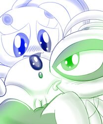 celebi color female female_only interspecies manaphy multiple_females nintendo pokemon yuri