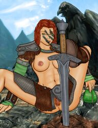 aela_the_huntress bagman87 skyrim tagme the_elder_scrolls