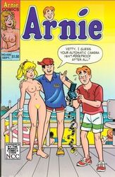 alias_the_rat archie_andrews archie_comics beach betty_cooper blonde_hair breasts female human male nude pussy reggie_mantle