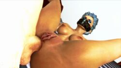 1boy 3d balls bed blue_eyes blue_eyeshadow blue_hair blue_lipstick breasts cock dick eyebrows eyelashes eyeliner eyes eyes_open eyeshadow female frost_(mortal_kombat) fucking games human legs legs_apart legs_up lips lipstick looking_up make_up makeup male mask masked mortal_kombat naked nude nude_edit nude_female on_back open_mouth oral oral_penetration oral_sex penis pussy pussy_lips render sex spread_legs spreading video_games white_background xnalara xps