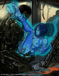 blue cortana ganassa green halo_(game) halo_(series) master_chief