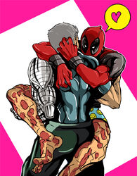 2boys cable deadpool gay male male_only marvel nathan_summers x-force x-men yaoi