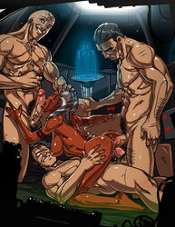 3boys ahsoka_tano anal ass breasts clone_wars cowgirl_position dark_skin double_penetration fellatio female ganassa gangbang group_sex hair large_breasts licking nude oral penis pubic_hair spanked star_wars straddle togruta vaginal_penetration