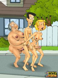 alice_mitchell dennis_the_menace futa-toon henry_mitchell martha_wilson