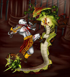 god_of_war gorgon kratos tagme