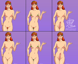 dc dcau earth_16 miss_martian nude oni_(artist) st._patrick's_day young_justice