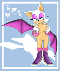 rouge_the_bat sonic_(series) steel_tigerwolf tagme