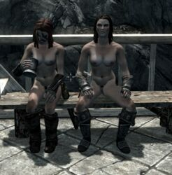 aela_the_huntress lydia skyrim tagme