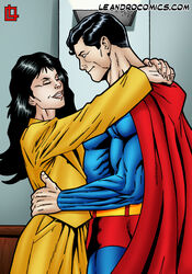 dc leandro_comics lois_lane superman superman_(series)