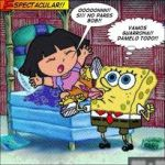 crossover dora dora_the_explorer spongebob_squarepants tagme