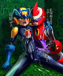 gay male_only mega_man mega_man_battle_network megaman.exe protoman.exe tagme yaoi