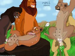 kiara kovu nala simba the_lion_king