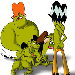 ace big_billy gangreen_gang grubber jerseydevil li'l_arturo male powerpuff_girls snake