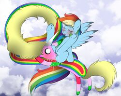 adventure_time crossover friendship_is_magic lady_rainicorn my_little_pony rainbow_dash_(mlp) v-d-k