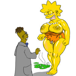 josemalvado lisa_simpson professor_frink tagme the_simpsons