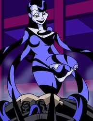 1boy 1girl ass batman_(series) batman_beyond dboy dc dcau futa_on_male futadom futanari inque malesub penis shapeshifter tentacle_on_male tentacles_on_male terry_mcginnis torn_clothes