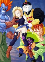 android_18 dragon_ball tagme zone
