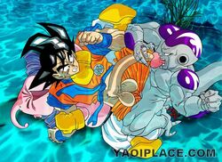 dragon_ball dragon_ball_z frieza majin_buu son_goku tagme yaoi