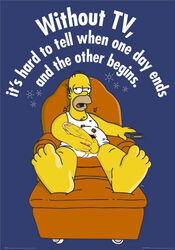 balls barefoot briefs chair english_text erection feet footrest gay homer_simpson human lazy male male_only penis recliner remote solo solo_male tagme tanktop the_simpsons wife_beater