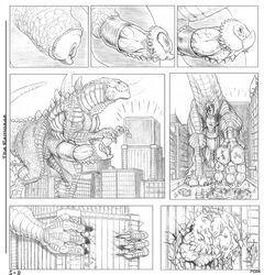 5-d big_penis building city claws crush destruction dinosaur erection gay godzilla godzilla_(series) hindpaw huge_cock macro male micro pad paws penis reptile reptilian saurian scalie sex sheath squish street zilla