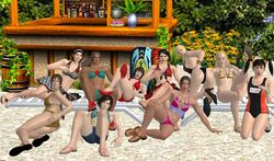 10girls anna_williams ass kazama_asuka barrel beach bikini black_hair blonde_hair bob_cut breasts brown_hair chair christie_monteiro cleavage dark_skin emilie_de_rochefort feet flip_flops flowers high_heels julia_chang kazama_jun kazama_asuka kazama_jun emilie_de_rochefort ling_xiaoyu long_hair lounge_chair michelle_chang multiple_girls namco navel nina_williams one-piece_swimsuit one_piece_swimsuit ponytail redbaron sand sandals short_hair short_shorts shorts shoulder_length_hair skirt sling_bikini swimwear take_your_pick tekken tekken_tag_tournament_2 toes trees two_piece_swimsuit xnalara zafina