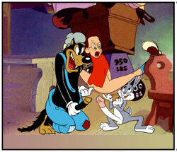 big_bad_wolf bugs_bunny little_red_riding_hood little_red_riding_rabbit looney_tunes tagme