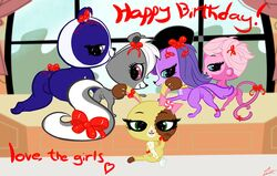 buttercream_sundae ebvert littlest_pet_shop minka_mark penny_ling pepper_clark zoe_trent