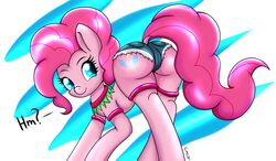 back_view camel_toe canisterpony daisy_dukes female friendship_is_magic my_little_pony solo