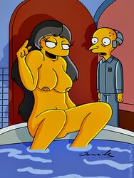 claudia-r montgomery_burns tagme the_simpsons