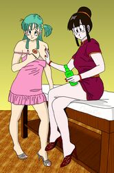 bulma_briefs chichi claudia-r dragon_ball dragon_ball_z