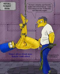 color female human male marge_simpson moe_szyslak straight tagme the_simpsons