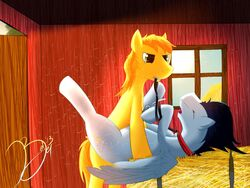 braeburn friendship_is_magic my_little_pony redjey soarin