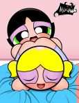 animated blush bubbles buttercup licking maximilo powerpuff_girls smiling